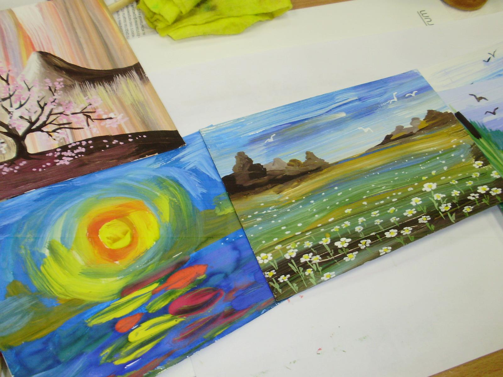 Рисунок на День космонавтики карандашом и красками для 35
